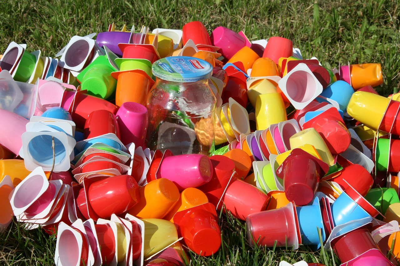 Plastic Cups Waste Mortgage Garbage Recycling